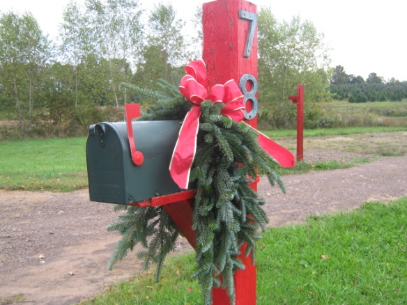 Deck the Mail box!
