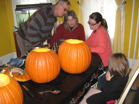 Carving Family Out Family Time