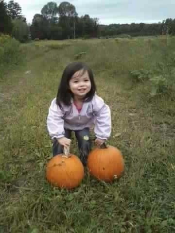 Our first Pumpkin Customer 2013